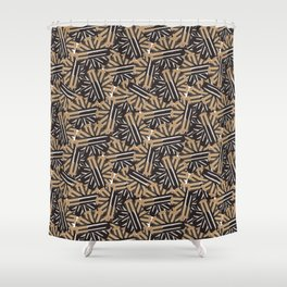 Zillion Volts Durable Reversed Shower Curtain