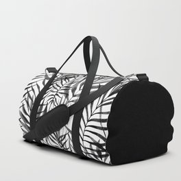 Monochromatic Leaves Duffle Bag