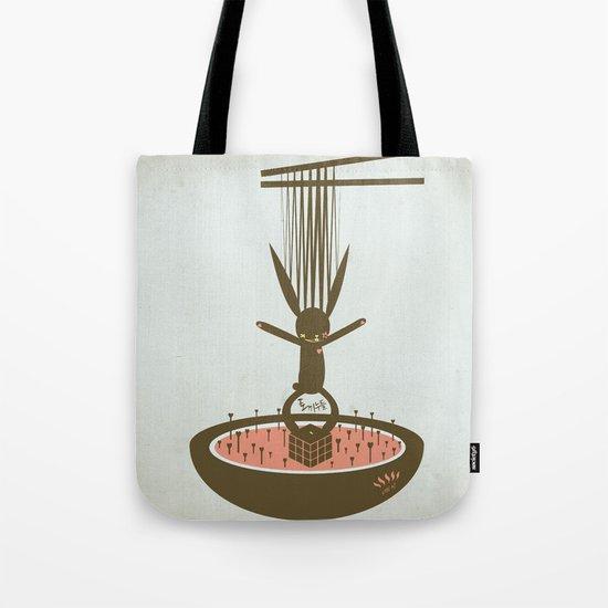 사춘기: 토끼누들 [PUBERTY: TOKKI NOODLE] Tote Bag