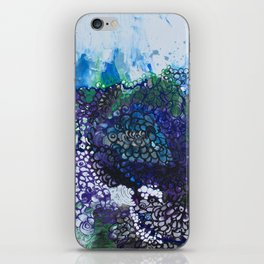 Into The Drink She Goes iPhone Skin