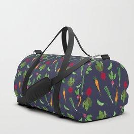 Eat more veggies! Dark version Duffle Bag