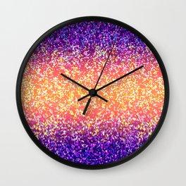 Glitter Graphic Background G106 Wall Clock