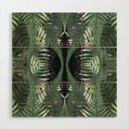 Bronx Botanical Garden Green Ferns Wood Wall Art