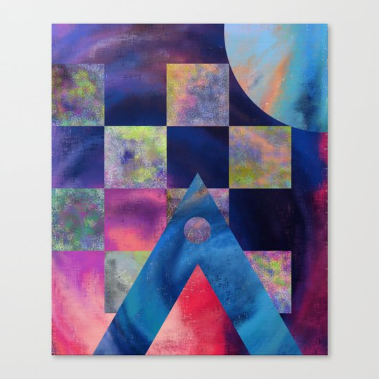 Unsymmetrical Order Canvas Print