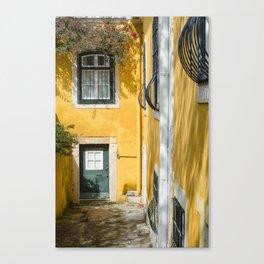 LISBON, House Canvas Print