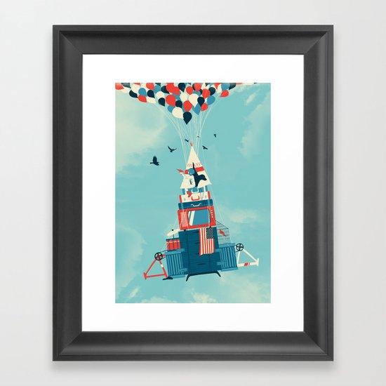 Rocket Boy Framed Art Print