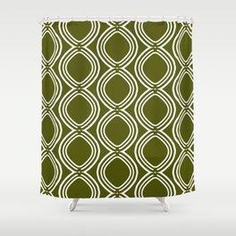 Hatchees (Olive Green) Shower Curtain