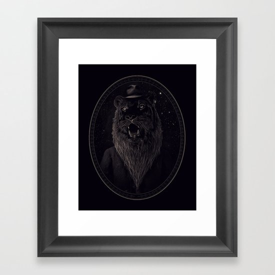 Call of the Wild Night Framed Art Print