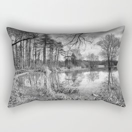 Blagdon Lake Rectangular Pillow