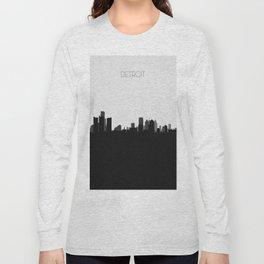City Skylines: Detroit Long Sleeve T-shirt