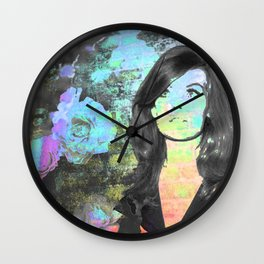 60's Girl Wall Clock