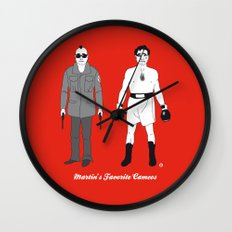MARTIN'S FAVORITE CAMEOS Wall Clock