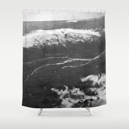 Glacier Buddies Shower Curtain
