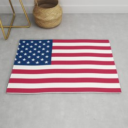 Flag of USA - American flag, flag of america, america, the stars and stripes,us, united states Rug