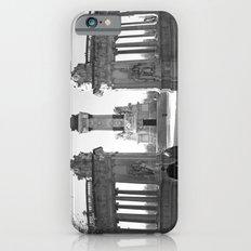 Couple at Madrid monument Slim Case iPhone 6s