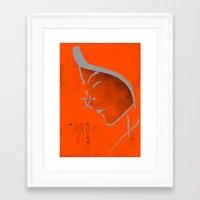mulan Framed Art Prints featuring Mulan by Dee Choi