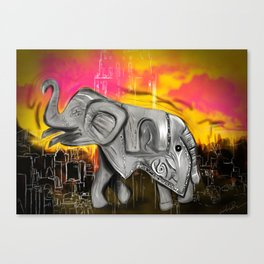 Yvette the Great Canvas Print