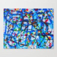 Lego: Jackson Pollock 1 Canvas Print