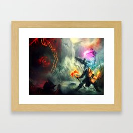 Trio (Destiny inspired) Framed Art Print