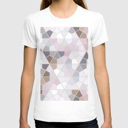 Winter Hexagon Pattern T-shirt
