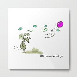 #8 Let it go Metal Print