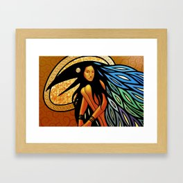 New World Isis Framed Art Print