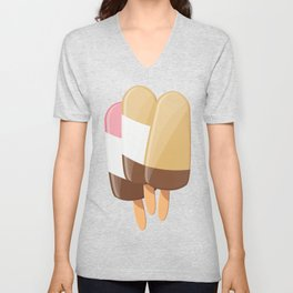 Ice cream 007 Unisex V-Neck