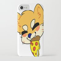 shiba iPhone & iPod Cases featuring SHIBA PIZZA by Samedi J.