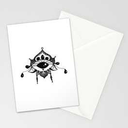 All Seeing Eye Bloom Stationery Cards