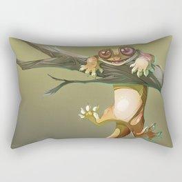 Gecko Correlophus Ciliatus Rectangular Pillow