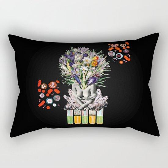 Hay for Brain Rectangular Pillow