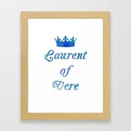 A Golden Prince Framed Art Print