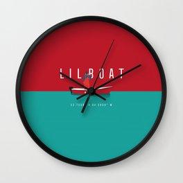 Lil Boat Wall Clock