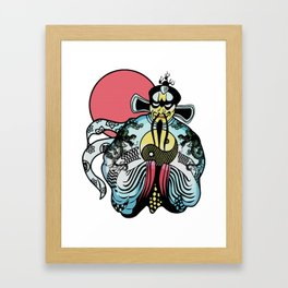 Jack Burton's Chinese Shirt Artwork, Films Posters, Prints, Tshirts, Bags, Men, Woman, Kids Framed Art Print
