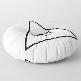 Delta Cubes Floor Pillow