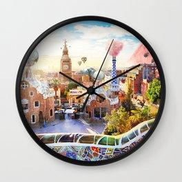 Magic BCN Wall Clock