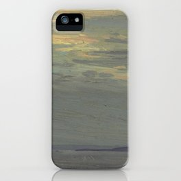 Tom Thomson Giant's Tomb, Georgian Bay 1914 Canadian Landscape Artist iPhone Case