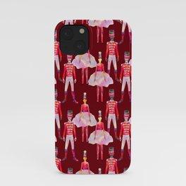 Nutcracker Ballet - Berry Red iPhone Case