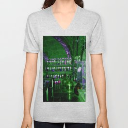 Potion Class - Green and Purple Hues Unisex V-Neck