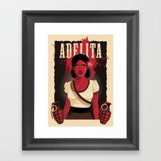 Adelita Framed Art Print