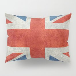 UK flag, High Quality bright retro style Pillow Sham