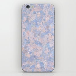 Rose Quartz and Serenity Blue 4644 iPhone Skin