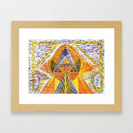 Mayan heaven Framed Art Print