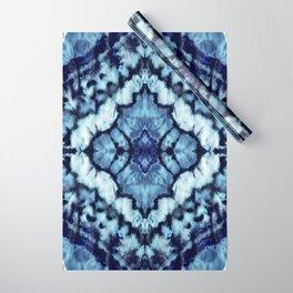 Tie Dye Linen Ikat Wrapping Paper