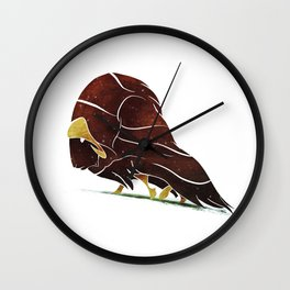 Musk Ox Wall Clock