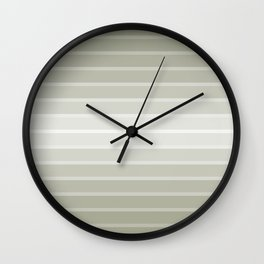 Rayures stripes graphic design Wall Clock