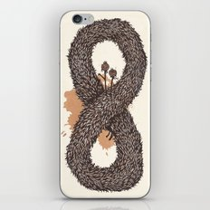 fur infinity iPhone & iPod Skin