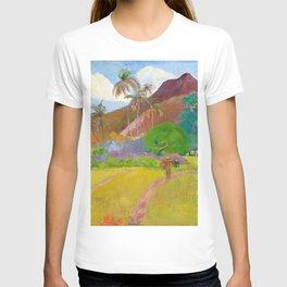 Tahitian Landscape by Paul Gauguin T-shirt
