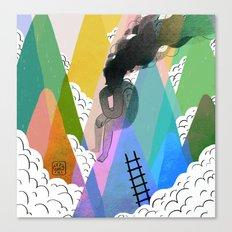 Troubles Canvas Print