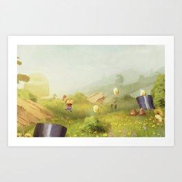 Plumber Summer Art Print